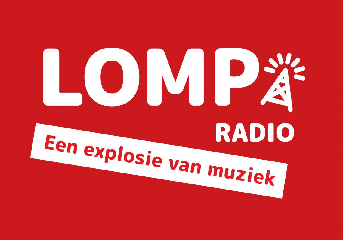 Logo-lomp-radio-slogan-achtergrond-rood